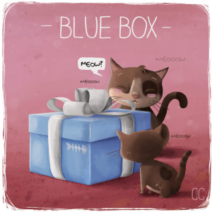 THE BLUE BOX