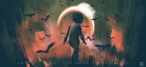 LATE AT NIGHT THE DARD THINGS WAKE
