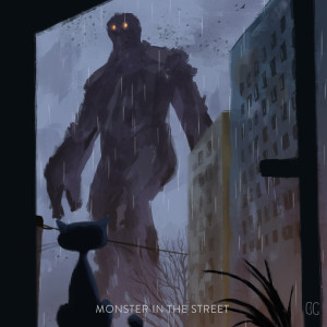 MONSTER IN THE STREET