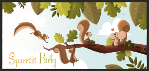 SQUIRRELS PARTY