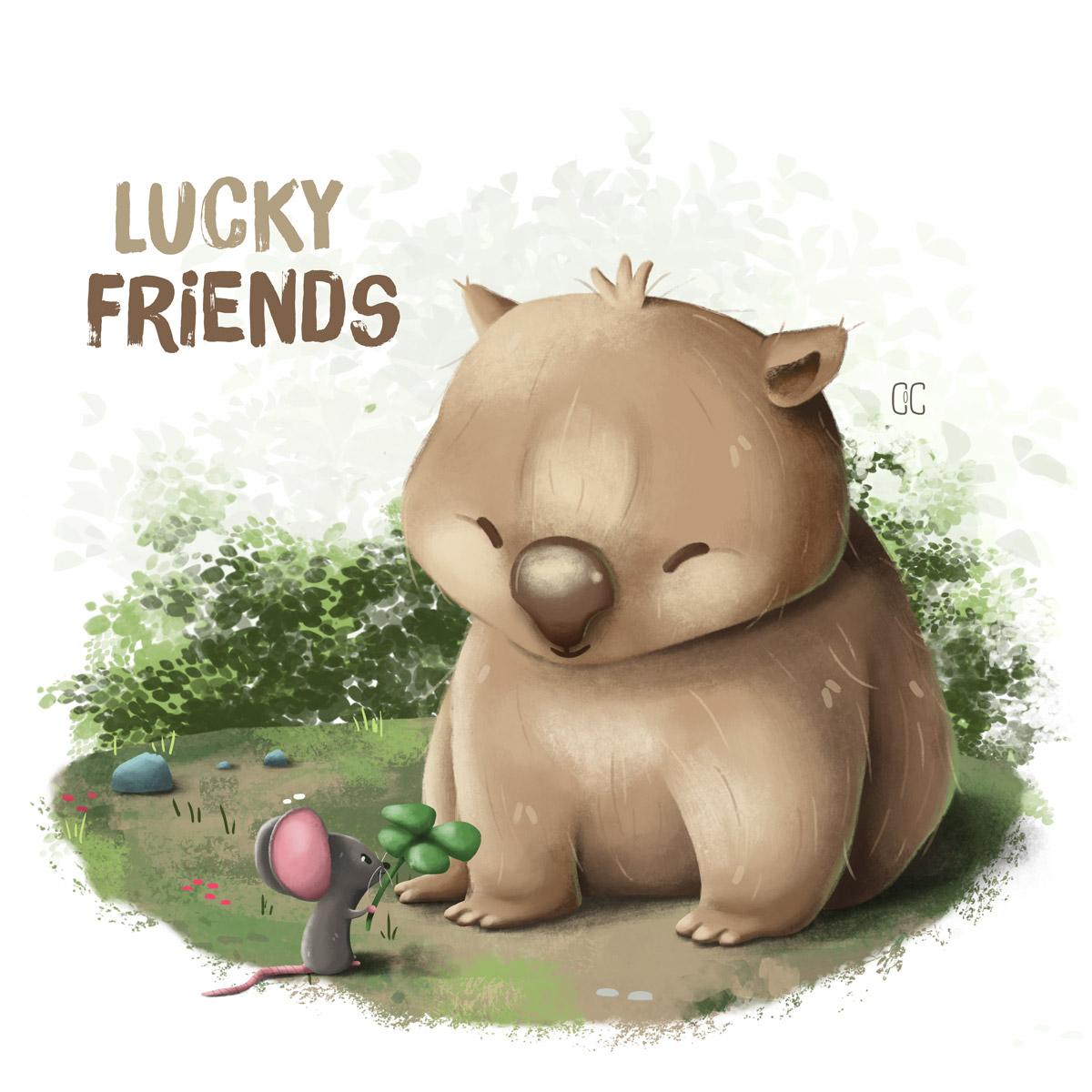 LUCKY FRIENDS